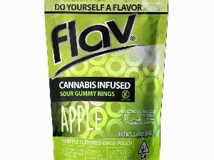 Apple Sour Rings - 100mg, Flav