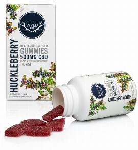 Huckleberry CBD Gummies, wyld cbd