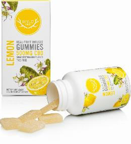 Lemon CBD Gummies, wyld cbd